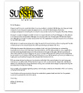 Camp Sunshine Letter of Reference
