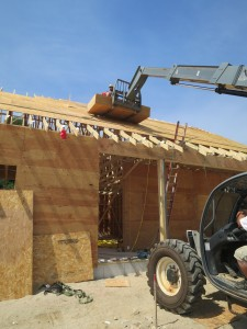 Roof Sheathing Continues