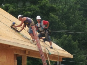 Roof Sheathing Done Safe